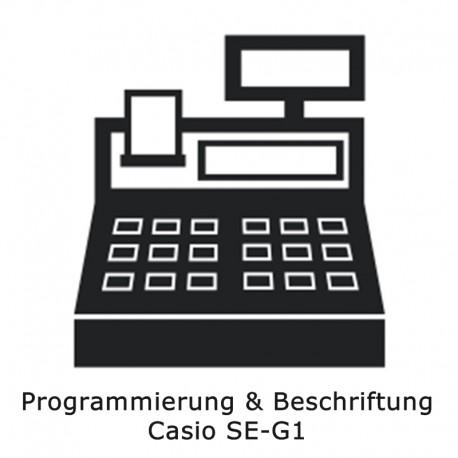 Programmierung Casio SE-G1