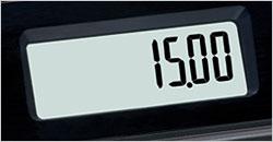 Kundenanzeige Casio SE-S100