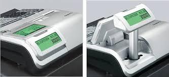 Kundenanzeige Display Casio SE-S400